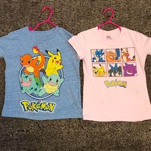 Girls Pokémon shirts